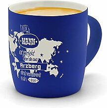 printplanet - Kaffeebecher mit Ort/Stadt Arzberg
