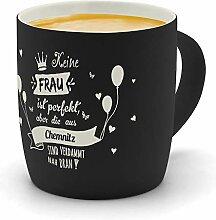 printplanet - Kaffeebecher mit Ort/Stadt Chemnitz