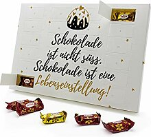 printplanet - Marzipan Adventskalender Schokolade