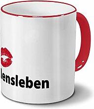 printplanet Städtetasse Haldensleben - Design