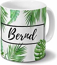 printplanet Tasse mit Namen Bernd - Motiv