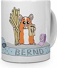 printplanet Tasse mit Namen Bernd - Motiv Hamstern