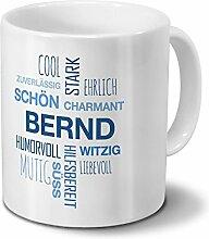 printplanet Tasse mit Namen Bernd Positive