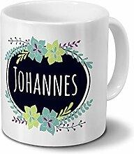 printplanet Tasse mit Namen Johannes - Motiv