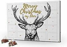 printplanet - Tee-Adventskalender XL Merry