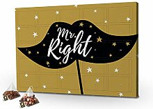 printplanet - Tee-Adventskalender XL Mr. Right mit