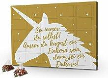 printplanet - Tee-Adventskalender XL Sei Immer du