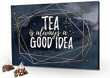 printplanet - Tee-Adventskalender XL Tea is Always