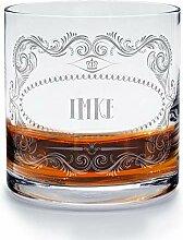 printplanet - Whiskyglas mit Namen Imke graviert.