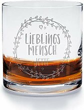printplanet - Whiskyglas mit Namen Jette graviert.