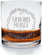 printplanet - Whiskyglas mit Namen Knut graviert.