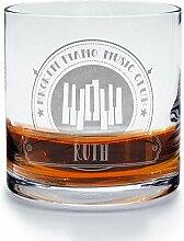 printplanet - Whiskyglas mit Namen Ruth graviert.