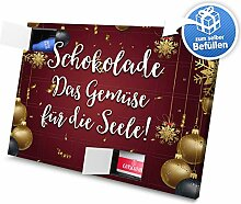 printplanet - XL Adventskalender Schokolade Das