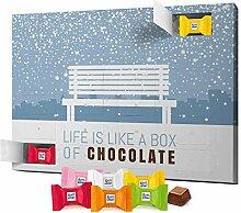 printplanet - XL Adventskalender Schokolade Löst