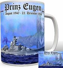 Prinz Eugen Schlachtschiff - Tasse Becher Kaffee