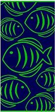 Prinz Strandtuch Neonfisch