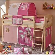 Prinzessin Kinderzimmer Bett aus Kiefer Massivholz