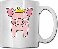 Prinzessin Pigs Fashion Coffee Cup Porzellan Tassen