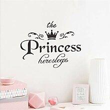 Prinzessin prinzessin krone wand mit feinen
