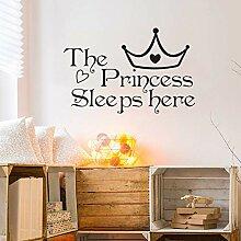 Prinzessin Schläft Hier Baby Mädchen
