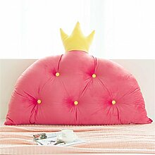 Prinzessin Zimmer Bett Kissen Kissen Bettbett ( Farbe : Rot , größe : 180*90cm )