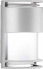 Prisma Außen Wandleuchte Nikko + 27VV E2760W Grau Blickdich