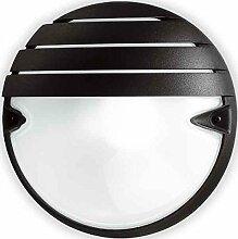 Prisma Chip Tondo 30Grill–Wandleuchte CHIP TONDO 30E27grau metallisch/A