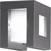 Prisma pack-q Split LED Wandleuchte 3LEDx3W 6500grau + weiß
