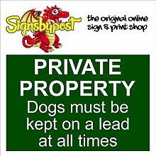 Privatbesitz, Hunde-, wasserdicht,
