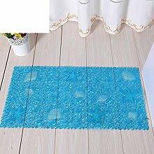 Private home textiles Bad Antirutschmatten Badvorleger Bad Massagematte-E 36x67cm(14x26inch)