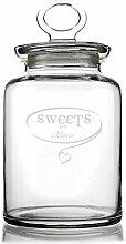 Privatglas Glasdose - Sweets for - mit Gravur Ihres Namens