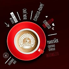 Pro-Art gla1106b Wandbild Glas-Art 'Coffee