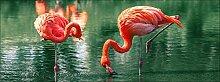 Pro-Art gla1134c Wandbild Glas-Art 'Flamingo