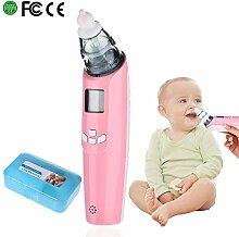 Pro Baby Elektrische Nasensauger mit Aufbewahrungsbox Nasal Saugvorrichtung Baby Snot Sucker Gerät Musik & Light 3-strength Anpassung für Babys