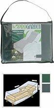 Pro Garden Collection Schutzhülle für Liege, Mehrzweck, mit Reißverschluss salvatela, grün, 200x 70x 40cm