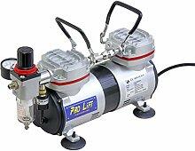 Pro-Lift-Werkzeuge Airbrush Kompressor 2 Zylinder