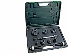 Pro-Lift-Werkzeuge Lochstanze Set mit Knarre,