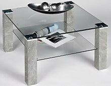 PRO Line Couchtisch Tischplatte: Glas beige