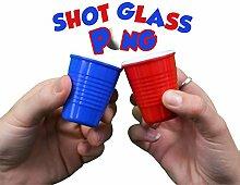 Pro Series Shot Pong Set mit hartem Kunststoff