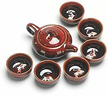 Pro-Tea Chinesisches Kung Fu Teeset Keramik Glasur