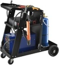 Pro-tec Werkzeugtrolley, Schweißwagen mit 3