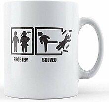 Problem gelöst-Bedruckte Tasse