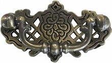 Probrico 20 Stück Antike Bronze Türgriffe Möbelgriff Messing antik Möbelknopf Ringgriff PDF152AB