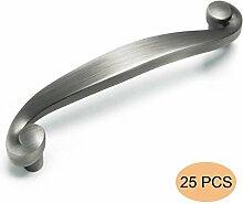 Probrico 25 Stück PD80344APH96 Küchenschrank Möbelknopf Türgriffe Möbelgriff eingerieben Bronze BA 96mm