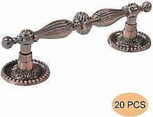 Probrico 50 Stück Küchenschrank Türgriffe Möbelgriff antikes Kupfer Möbelknopf PD2227AC90