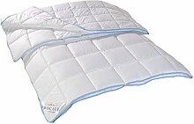 PROCAVE TopCool 4 Jahreszeiten Qualitäts-Kinder-Bettdecke mit Druckknöpfen für Winter und Sommer | Soft-Komfort-Bettdecke | kochfeste Steppdecke | atmungsaktiv & wärmeausgleichend | Made in Germany | 100x135cm