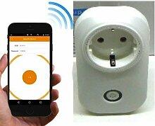 ProDigital intelligente Steckdose mit Fernbedienung, Schalter Elektro intelligente kabellos für Verknüpfen Haushaltsgeräte verwendet für Ventilatoren, Klimaanlagen, Ladegeräte für, Lampen, ECC