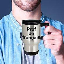 Prof de Francais Thermobecher für französische