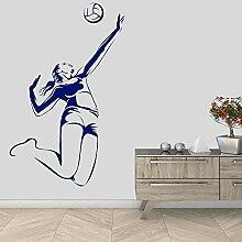 Professioneller Volleyballspieler Hochfester Nagel