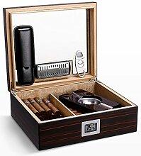 Professioneller Zigarren-Humidor, Hygrometer Und